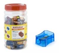Точилка Nataraj Neon в банке  50шт 203435002 цена за шт