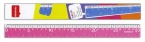 Линейка пластиковая 30см Nataraj Neon 204461001