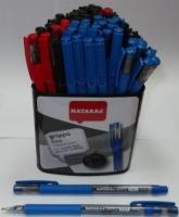 Ручка шариковая асорти 0.7мм Nataraj Grippo 206499022