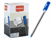 Ручка шариковая синяя 0,7мм Nataraj 621 206500014