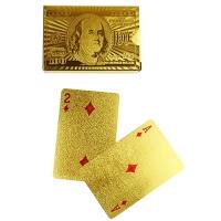 Карты игральные золото 53174