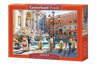 Пазлы Castorland 3000 эл У фонтана С-300389