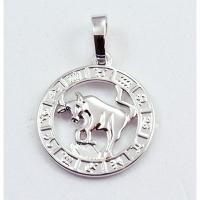 Кулон Знак Зодиака Телец серебро 1-210-1 Куты Назар