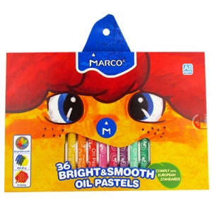 Пастель масляная 36цв Colorite MARCO 1100ОР-36