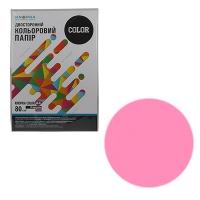 Бумага цветная А4 25л Knopka розовый неон 80г/м2 NEOPI