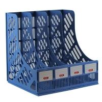 Лоток вертикальный пластик 4 секции арт648 10-391 (23568)