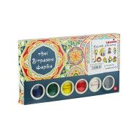 Набор витражных красок идейка CLASSIC 98501.02.03.04.05.0