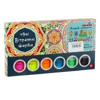 Набор витражных красок идейка NEON 98507.08.09.10.12