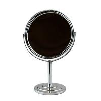 Зеркало круглое двухстороннее на метал подставке  5-662 (8088)