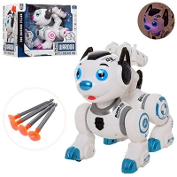 Собака робот ходит,свет ,музыка 0831