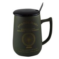 Чашка с крышкой+ложка 57251