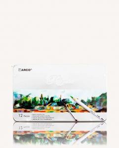 Карандаши цветные 12шт в металлической упаковке MARCO 7120-12TN