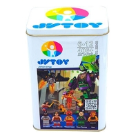 """Конструктор """"Битва с роботом Лекс Лютор"""" серия """"Найкращит супергерои"""" JVToy 22002"""