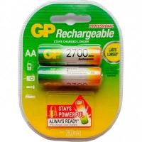 Аккамулятор GP Rechargeable AA GP270AAHC-2PL2 набор 2шт