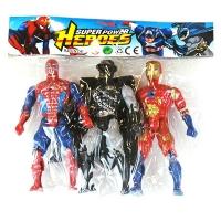 Супер Герои  3шт цена за упак 7315