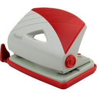 Дырокол 16л серо-красный Axent 3716-06 А