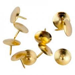 Кнопки медь 100шт Axent 4212