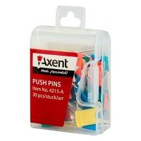 Кнопки гвоздики цветные Axent 4215 -А