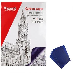 Бумага копировальная А4 100л синяя 3301-02 А