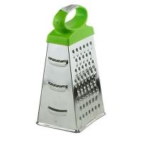 Тёрка для продуктов с пластиковой ручкой 4 рабочие поверхности Master Tool 92-0855