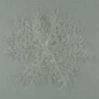 Новогодние украшения Снежинка 14,5см 3шт 6-2 (май 58)