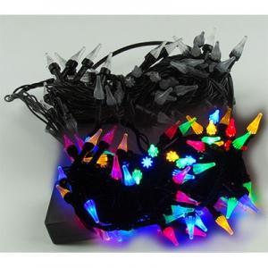 Гирлянда электрическая белая, цветная, красная 100л LED 5-274 (6366)