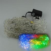 Гирлянда электрическая цветная капельки леска  5-282 (6366)