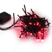 Гирлянда электрическая красная, синяя, желтая 100л LED 5-285 (6366)