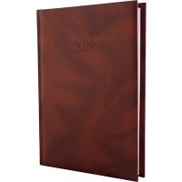 Ежедневник А5 датированный OFFICE коричневый Е21607-07