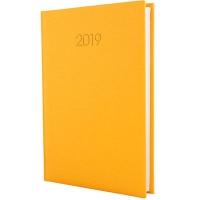 Ежедневник А5 датированный CAPYS желтый Е21697-05