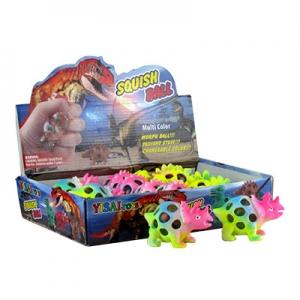 Игрушка резиновая антистресс мозги Динозавр  5-669 (2131)