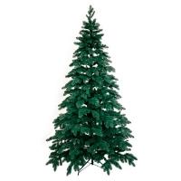 Искусственная елка Литая зеленая,голубая 2,3м №18