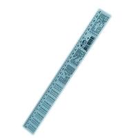 Линейка пластиковая 30см Таблица умножения К-9052
