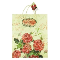 Пакет подарочный крупные цветы 56*40 52971