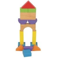 Деревянные блоки 13шт HJD931323-1