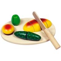 Развивающая игрушка Hongji Toys Овощерезка на липучке HJD93156
