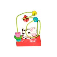Развивающая игрушка Пальчиковый лабиринт Корова HJD93776B