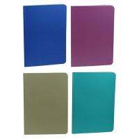 Блокнот А5 50л клееный цветной Metallic 80г/м2 ЗК-23