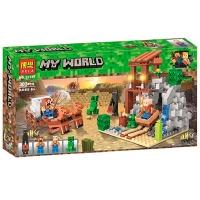 Конструктор Minecraft 303 дет  11137