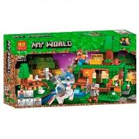 Конструктор Minecraft 327 дет 11138