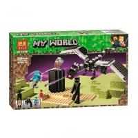Конструктор Minecraft дракон 228 дет 11169