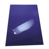 Папка уголок А4 глянец фиолет Е31153-12