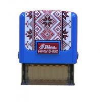 Оснастка для штампов 14*38мм Согласно оригинала Вишиванка синяя С-852
