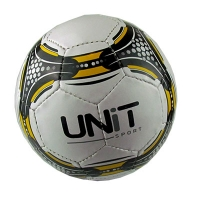 Мяч футбольный черная сетка PVC разм 5 UNIT 20141-US