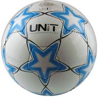 Мяч футбольный Звезда голубая PVC Shine разм 5 UNIT 20144-US
