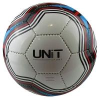 Мяч футбольный Волна цветная PVC Shine разм 5 UNIT 20145-US