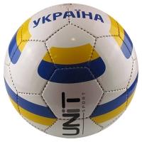 """Мяч футбольный """"Украина"""" PVC Shine разм 5, арт 20146 -US  UNIT"""
