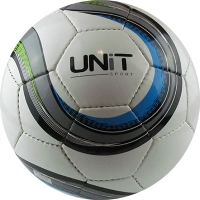 Мяч футбольный черно-синий PVC Shine разм 5 UNIT 20147-US