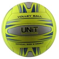Мяч волейбольный салатовый PVC Neon разм 4, арт 20153-US UNIT
