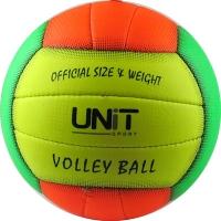 Мяч волейбольный разноцветный PVC разм 4, арт 20154-US UNIT